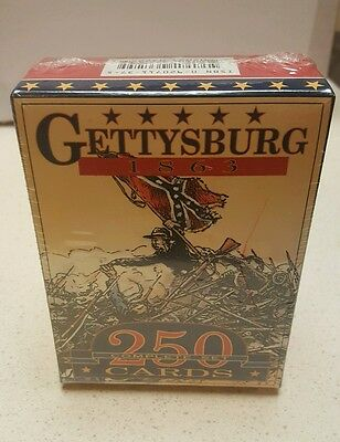 Columbia Games Card Game Dixie - Gettysburg Complete Set MINT CCG - SEALED BOX
