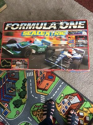 SCALEXTRIC - Formula One - Rare 90s! Cars/power /Controllers/track Model C818