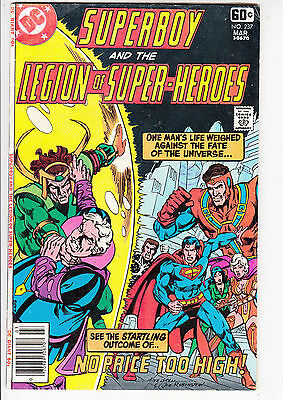 SUPERBOY and the LEGION of SUPER HEROES  V1#237  FN+/FN 1978 DC AMERICAN COMIC