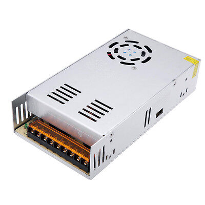 DC 12V 400W Universal Metal Regulated Switching Power Supply with Cooling Fan UK