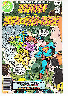 SUPERBOY and the LEGION of SUPER HEROES  V1#253  FN/FN+ 1979 DC AMERICAN COMIC