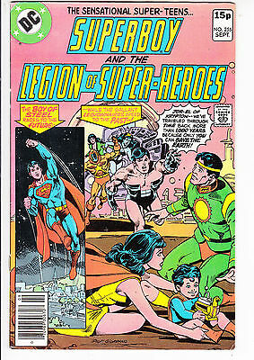 SUPERBOY and the LEGION of SUPER HEROES  V1#255  FN/FN+ 1979 DC AMERICAN COMIC