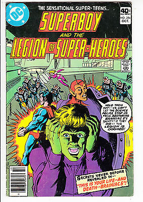 SUPERBOY and the LEGION of SUPER HEROES  V1#256  FN/FN+ 1979 DC AMERICAN COMIC