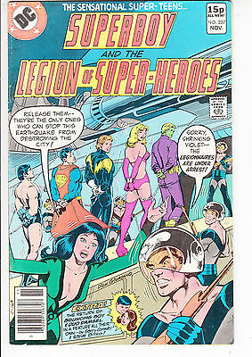 SUPERBOY and the LEGION of SUPER HEROES  V1#257  FN+/FN 1979 DC AMERICAN COMIC