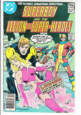 SUPERBOY and the LEGION of SUPER HEROES  V1#258  FN+/FN 1979 DC AMERICAN COMIC