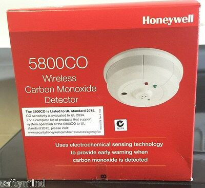 Brand New Honeywell 5800CO Wireless Carbon Monoxide Detector, CO, Exp: Jan 2023