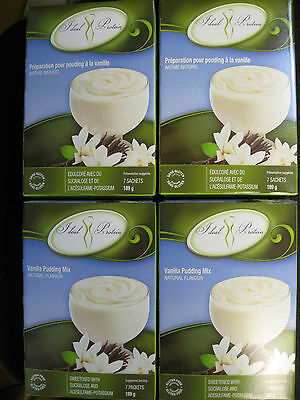 Ideal Protein Vanilla Pudding Mix  (4 Boxes Of 7)