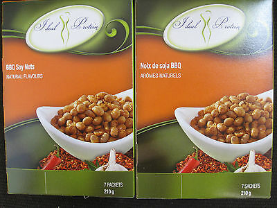 Ideal Protein Bbq Soy Nuts   (4 Boxes Of 7)