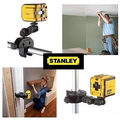 Stanley Intelli Tools Cubix Self Levelling Cross Line Laser Spirit Level  Mount