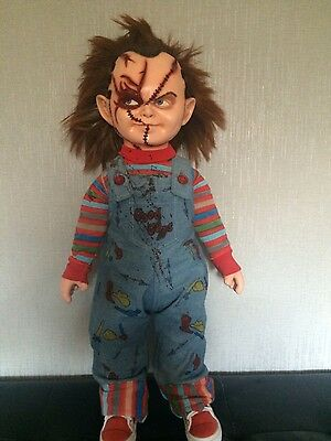 "Lifesize Childs Play Chucky  Doll ""rare""  32"" Height"