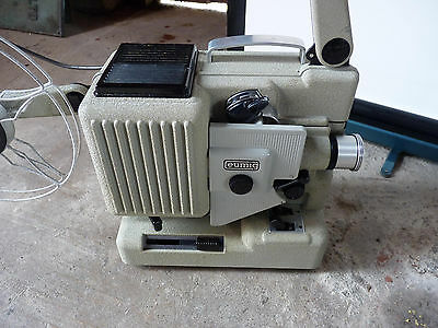 Eumig p8 standard 8mm silent cine projector and screen - not working