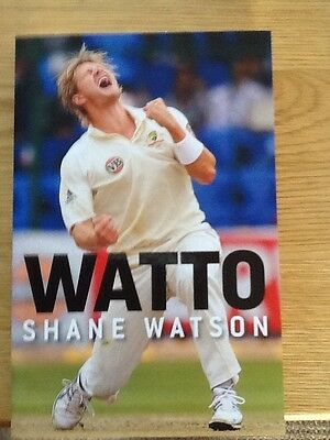 Watto - Shane Watson  2011 First Edition  Published In Australia