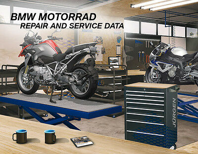 BMW Motorcycle Repair Service Data 09 2016 Manual R K F S C G RSD
