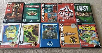 Job Lot PC Games (10 X CD-ROM)