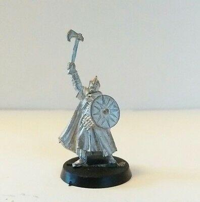 games workshop Lord of the rings  metal rohan captain