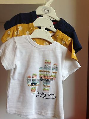 BNWT Baby Boys M&s Top 3-6 Months