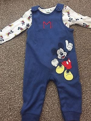 New Without Tags Boys 2 piece dungree set  6-9 months