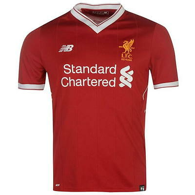 LIVERPOOL FC HOME 2017 2018 FOOTBALL SHIRT, Brand new with Tags [S-XL]