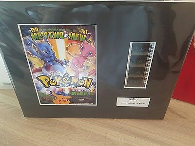 Pokemon The Movie Limited Edition Film Cell #2