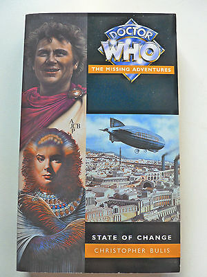 DOCTOR WHO THE MISSING ADVENTURES - STATE OF CHANGE by Christopher Bulis