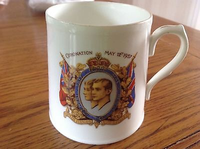 Coronation 1937 Paladin China Staffordshire Queen Elizabeth & King George Cup
