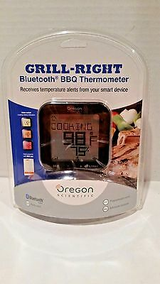 Oregon Scientific AW133 Grill Right Bluetooth BBQ Barbeque Thermometer NEW