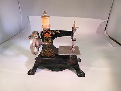 Antique Vintage  Mini Sewing Machine Small Salesman Sample Germany  G-510