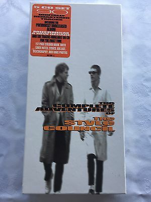 The Style Council The Complete Adventures of the Style Council Box Set Rare CDs