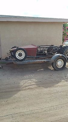 Sand Rail rolling frame, tires, transaxle and Trailer
