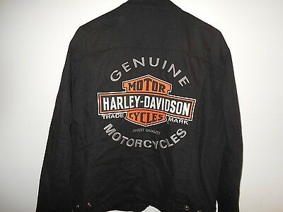 Harley Davidson Jacket and Zip out Vest AWESOME!!   Men's Size Medium