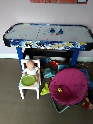 air hockey table game good fun