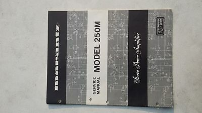 Original Service Manual MARANTZ Model 250M