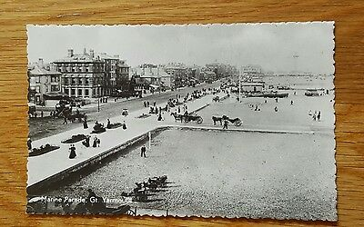 Photo Postcard of Marine Parade Great Yarmouth Norfolk