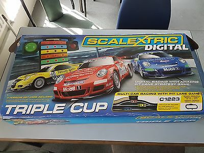 Scalextric Digital Triple Cup, Great Condition, C1223
