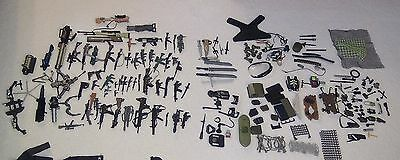 Vintage GI JOE Lot of Weapons & Accessories