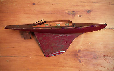 Antique Rimmer Seaworthy Keystone ? Pond Boat, Model
