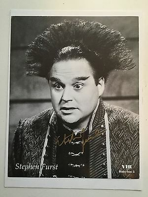 Babylon 5 Steven Furst rare signed photo w/COA