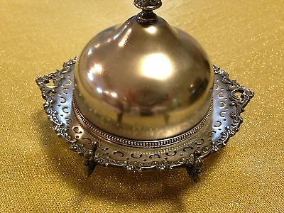 Vintage Wilcox Silverplate dome butter dish
