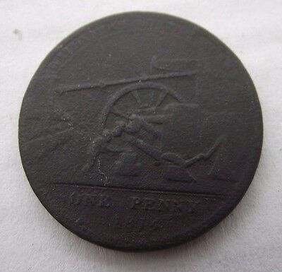 1814 One Penny Withymoor Token / Coin James Griffin & Sons