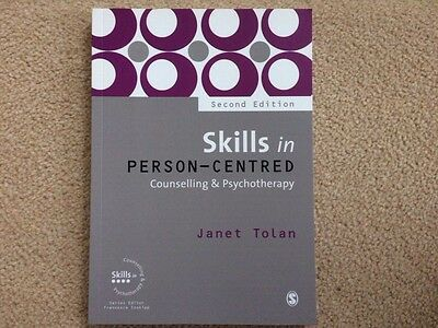 Skills in Person-Centred Counselling & Psychotherapy by Janet Tolan Paperback Bk