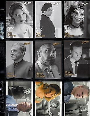 James Bond Archives Final Edition  24 card Spectre / Skyfall expansion set.