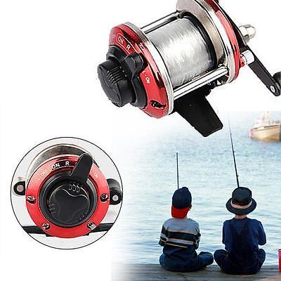 3.6:1 Metal Spinning Fishing Reel Peche Fish Wheel Spinning Fish Tackle Red DC