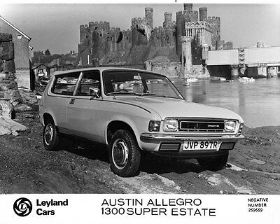1977 Austin Allegro 1300 Super Estate Factory Photo ae3872