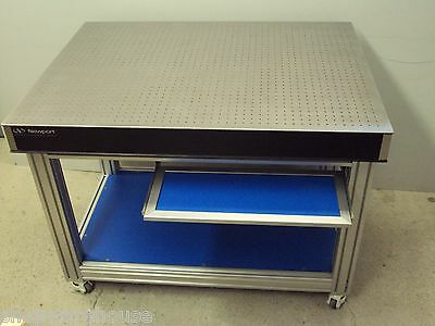 free crating NEWPORT OPTICAL TABLE, ROLL AROUND BENCH CASTERS breadboard lab