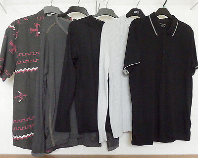 Men's top bundle size Large with 5 items including DKNY, Orvis, Ringspun
