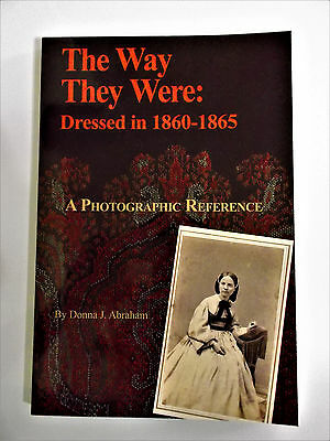 "*CDV PHOTOS* book ""THE WAY THEY WERE: DRESSED IN 1860-1865 CIVIL WAR"" vol 1 lady"