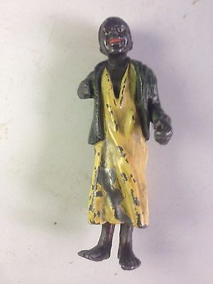 Cold Painted African Male Figure