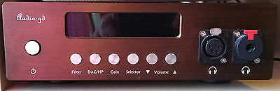 Audio-gd NFB-10SE  -  Balanced DAC, preamplifier, headphone amplifier