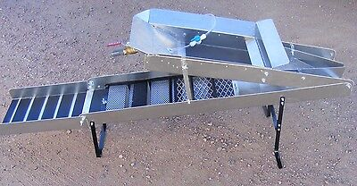 Gold Buzzard High Banker 10 Inch-Sluice- With Tom Tom / Washer Hose