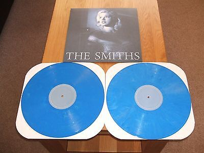 The Smiths Unreleased Demos Double Lp (Blue Vinyl,rare) Morrissey